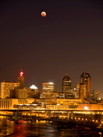 Blood Moon over St. Paul